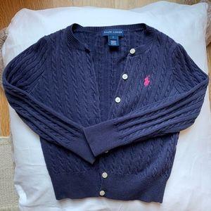 RALPH LAUREN | Girls' Cable Cardigan Sweater